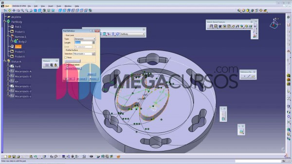 Aprende el funcionamiento de la herramienta Tools (créate datum, only current body, output feature)